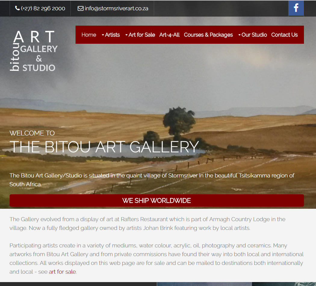 Bitou Art Gallery & Studio